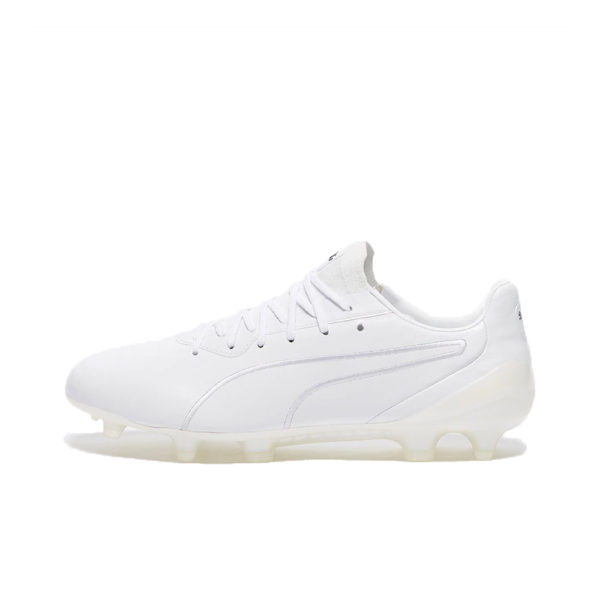 Puma King Platinum FG/AG - White/White image 1 | 10560603 | Global Soccerstore