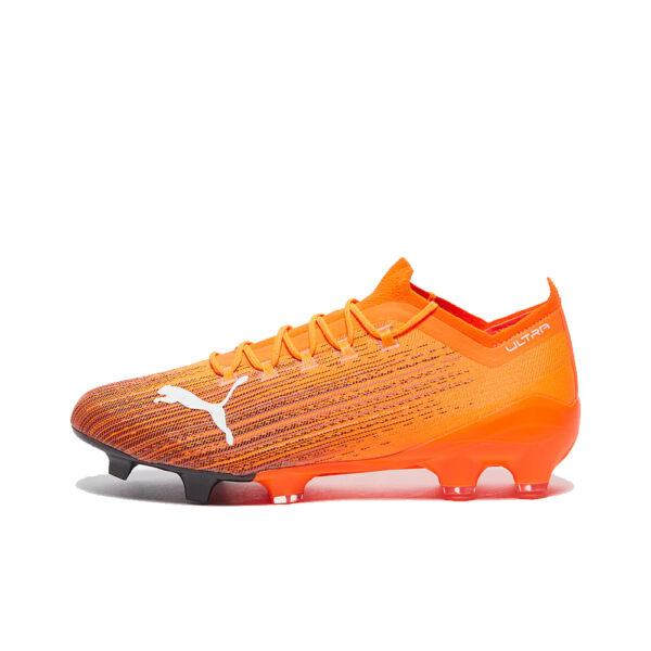 Puma Ultra 1.1 FG/AG - Shocking Orange/Black image 1 | 10604401 | Global Soccerstore