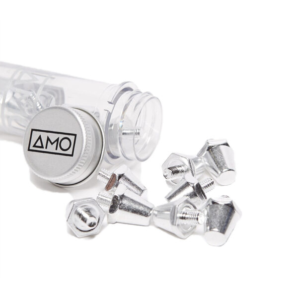 12 AMO Pro Studs (13x15mm) - Aluminium image 1   12STUXLALU   Global Soccerstore