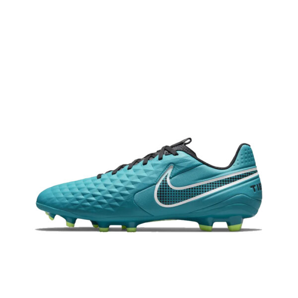 Nike Tiempo Legend 8 Academy FG/MG - Aquamarine/White-Lime Glow-Off Noir image 1   AT5292-303   Global Soccerstore