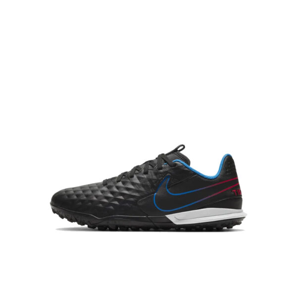 Jr Nike Tiempo Legend 8 Academy TF - Black/Siren Red/Light Photo Blue/Cyber image 1 | AT5736-090 | Global Soccerstore