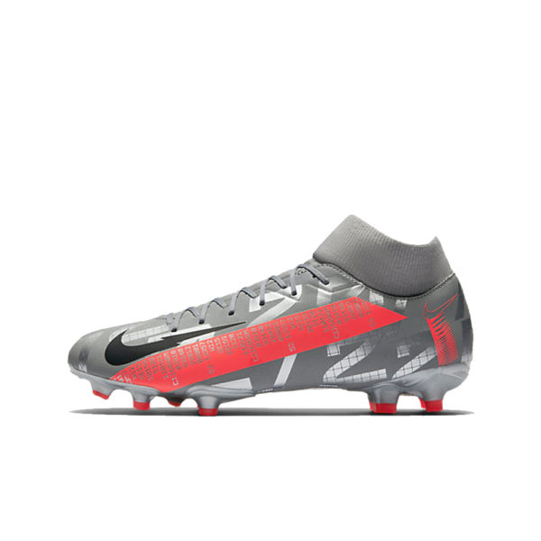 Nike Mercurial Superfly 7 Academy FG/MG - Bomber Grey/Crimson/Black image 1 | AT7946-906 | Global Soccerstore
