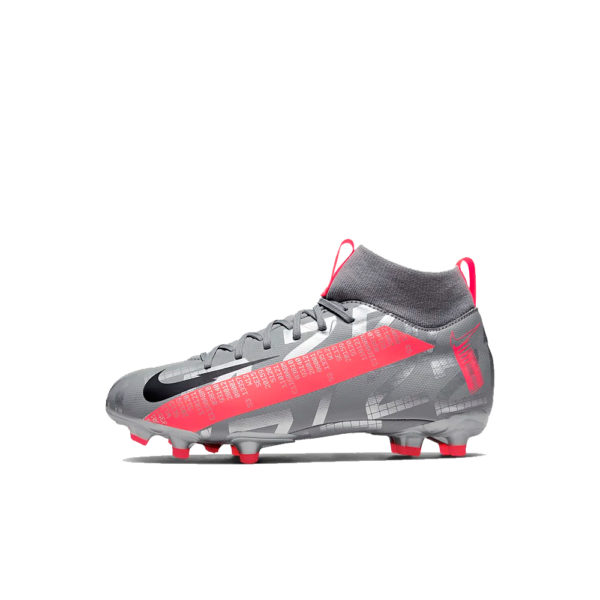 JR Nike Mercurial Superfly 7 Academy FG/MG - Bomber Grey/Crimson/Black image 1 | AT8120-906 | Global Soccerstore