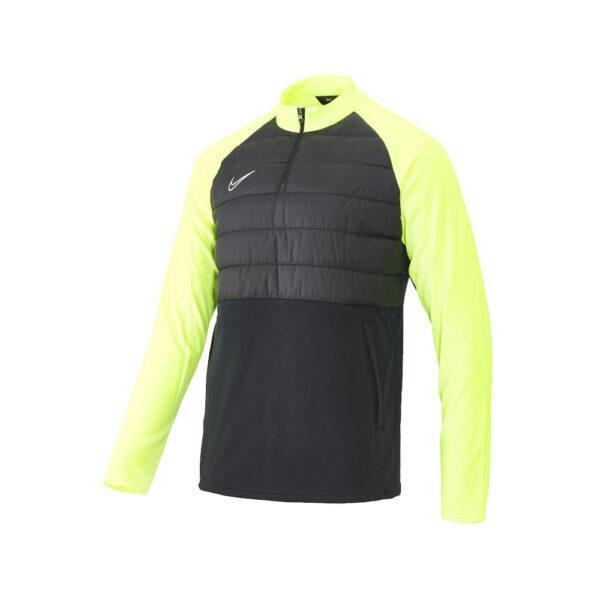 Nike Dry Academy Winter Warrior Top - Black/Volt/Black image 1   BQ7473-013   Global Soccerstore
