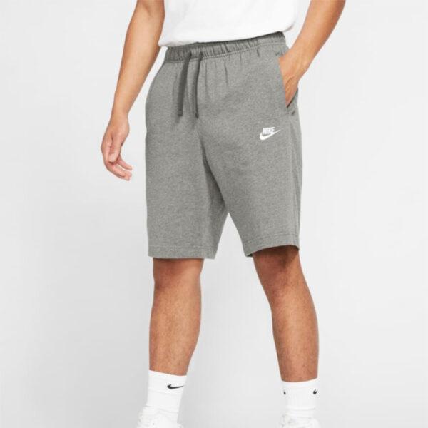Nike Sportswear Club Shorts - Dark Grey Heather/(White) image 1 | BV2772-063 | Global Soccerstore