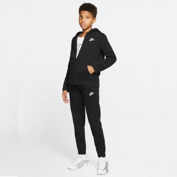 Kids' Nike Sportswear Core Track Suit - Black/Black/Black/(White) image 1 | BV3634-010 | Global Soccerstore