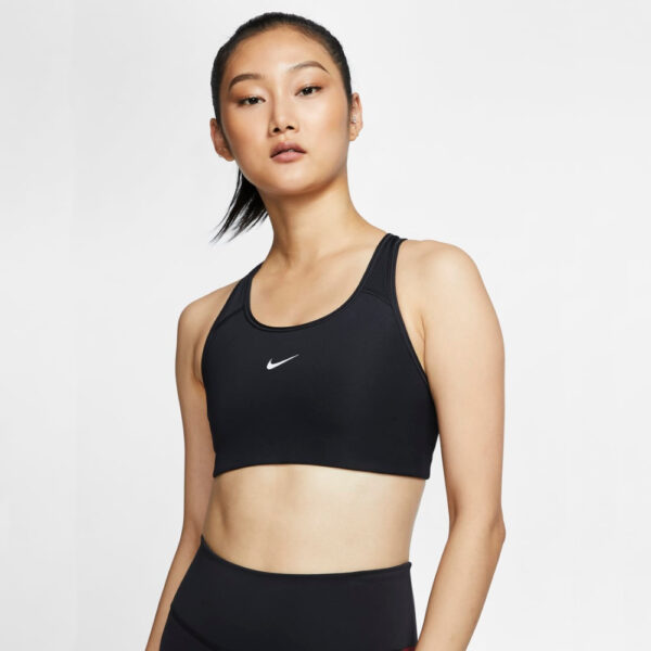 Nike Swoosh Bra Pad - Black/(White) image 1 | BV3636-010 | Global Soccerstore