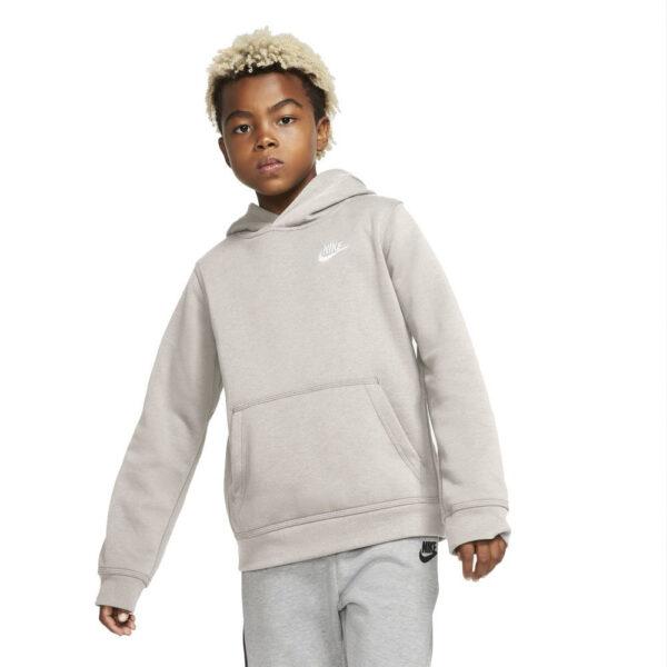 Kid's Nike Sportswear Pullover Hoodie - Desert Sand/(White) image 1 | BV3757-008 | Global Soccerstore