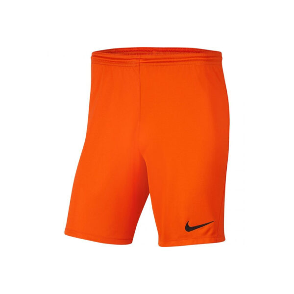 Nike Park III Knit Shorts - Orange image 1 | BV6855-819 | Global Soccerstore