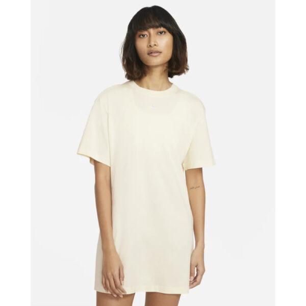 Nike Sportswear Essential Dress - Coconut Milk/White image 1 | CJ2242-113 | Global Soccerstore