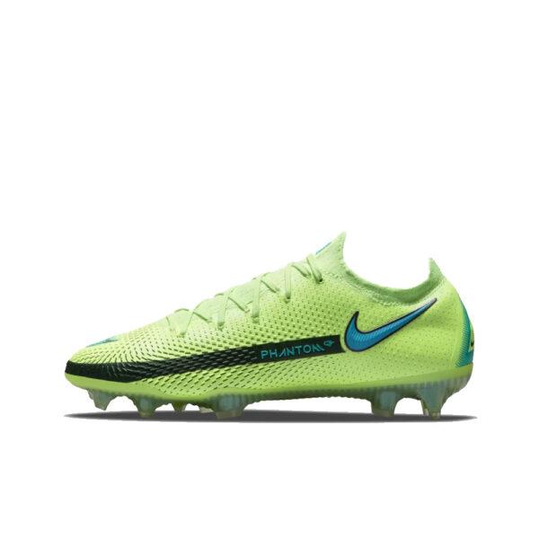 Nike Phantom GT Elite FG - Lime Glow/Aquamarine-Off Noir image 1   CK8439-303   Global Soccerstore