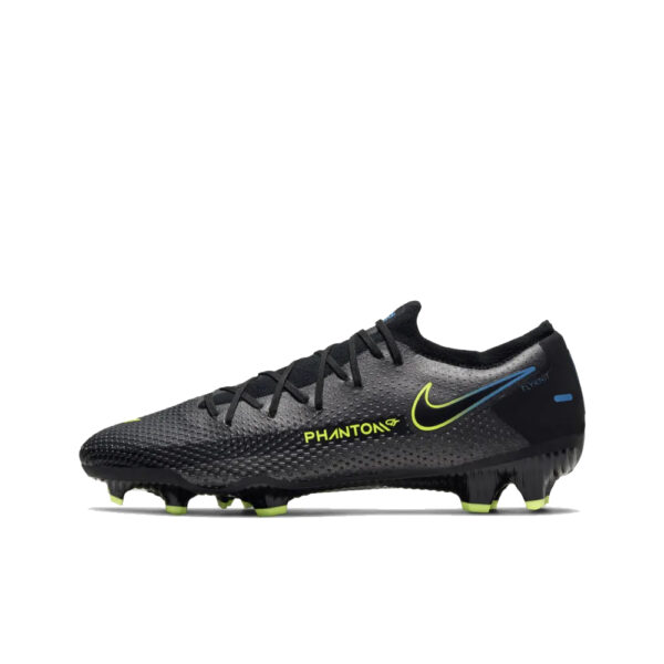 Nike Phantom GT Pro FG - Black/Cyber/Light Photo Blue image 1 | CK8451-090 | Global Soccerstore