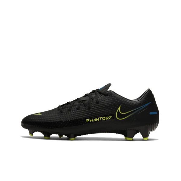 Nike Phantom GT Academy FG/MG - Black/Cyber/Light Photo Blue image 1 | CK8460-090 | Global Soccerstore