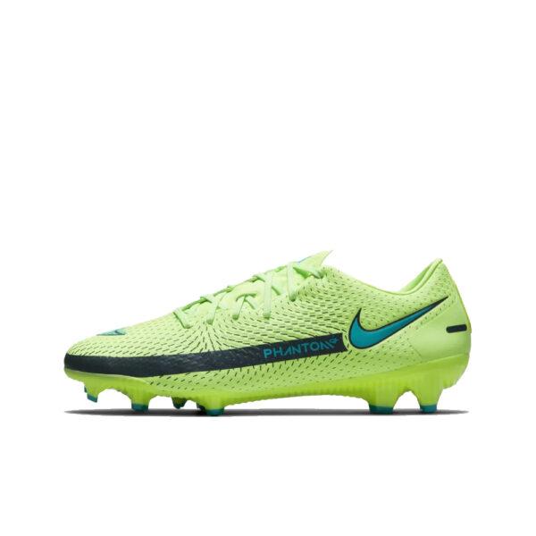 Nike Phantom GT Academy FG/MG - Lime Glow/Aquamarine-Off Noir image 1   CK8460-303   Global Soccerstore