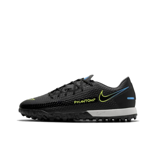 Nike Phantom GT Academy TF - Black/Cyber/Light Photo Blue image 1 | CK8470-090 | Global Soccerstore