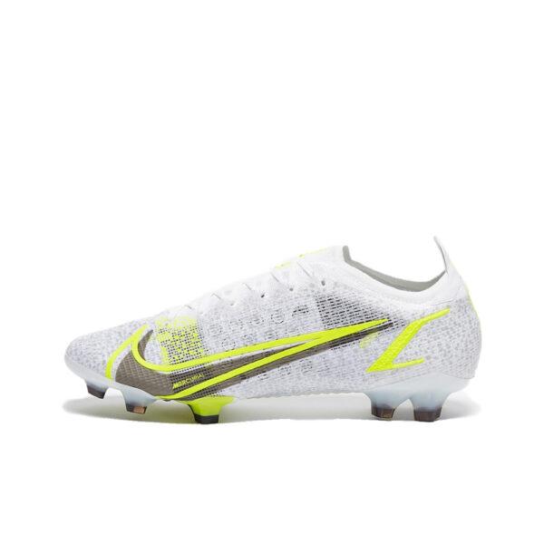 Nike Mercurial Vapor 14 Elite FG - White/Black-Mtlc-Silver-Volt image 1 | CQ7635-107 | Global Soccerstore