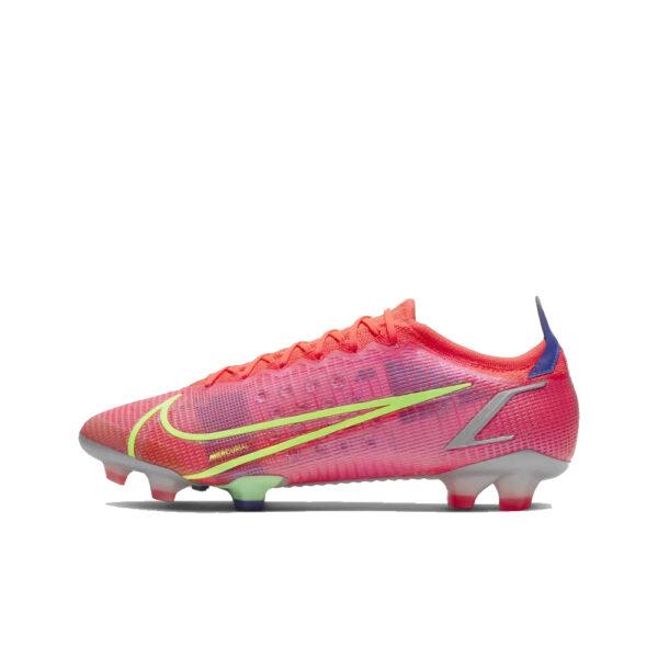 Nike Mercurial Vapor 14 Elite FG - Bright Crimson/Indigo Burst/Rage Green image 1   CQ7635-600   Global Soccerstore