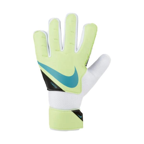 Jr Nike GK Match - FA20 - Lime Glow/White/(Aquamarine) image 1   CQ7795-345   Global Soccerstore