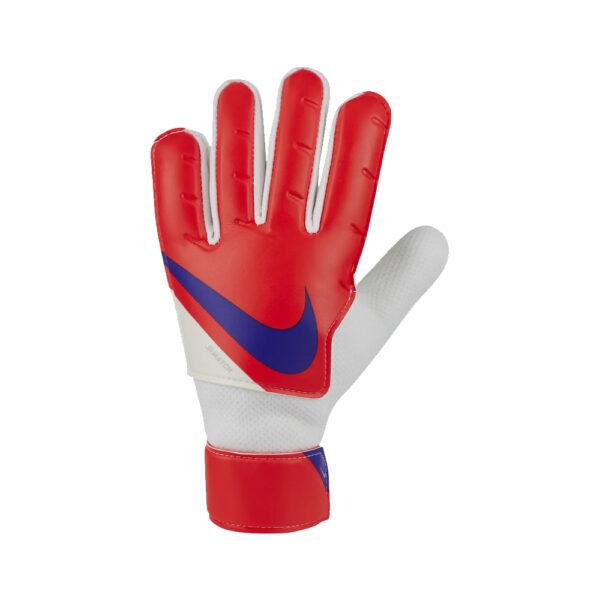 Jr Nike GK Match - Bright Crimson/Platinum Tint/Indigo Burst image 1   CQ7795-635   Global Soccerstore