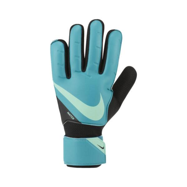 Nike GK Match - FA20 - Aquamarine/Black/(Green Glow) image 1   CQ7799-356   Global Soccerstore