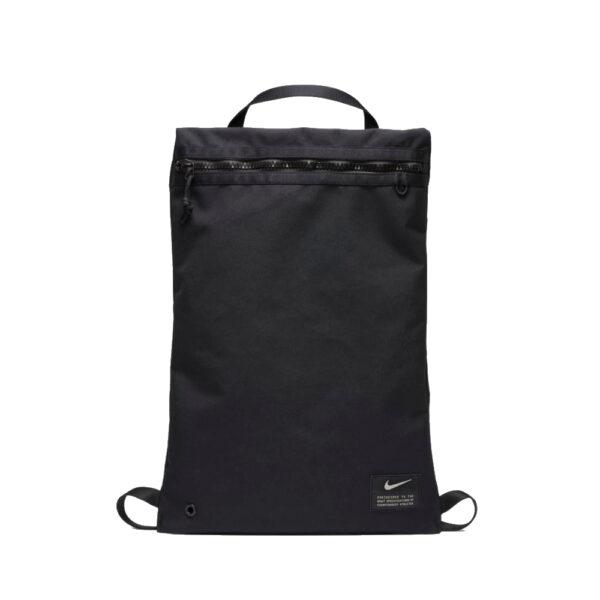 Nike Utility Gymsack - Black/Black image 1   CQ9455-010   Global Soccerstore