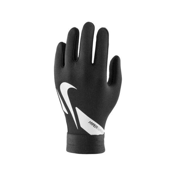 Youth Nike Hyperwarm Gloves - Black/White/Black image 1   CU1595-010   Global Soccerstore