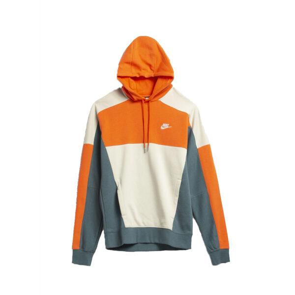 Nike Sportswear Hoodie - Electro Orange/Ash Green/White image 1 | CU4381-837 | Global Soccerstore