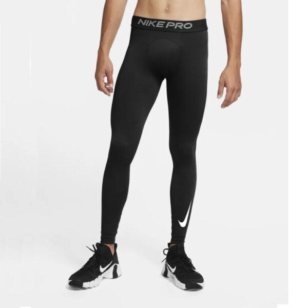 Nike Pro Warm Tights - Black/(White) image 1 | CU4961-010 | Global Soccerstore