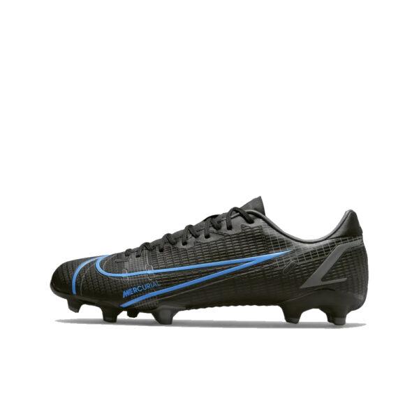 Nike Mercurial Vapor 14 Academy FG/MG - Black/Iron Grey/University Blue image 1   CU5691-004   Global Soccerstore
