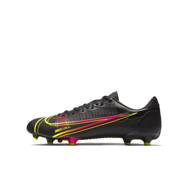 Nike Mercurial Vapor 14 Academy FG/MG - Black/Cyber/Rage Green/Siren Red image 1 | CU5691-090 | Global Soccerstore