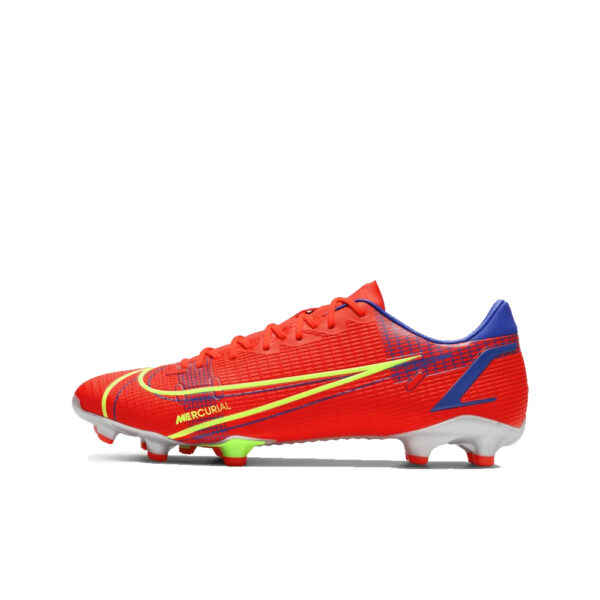 Nike Mercurial Vapor 14 Academy FG/MG - Bright Crimson/Indigo Burst/Rage Green image 1 | CU5691-600 | Global Soccerstore
