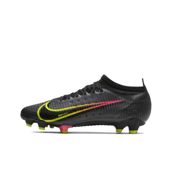 Nike Mercurial Vapor 14 Pro FG - Black/Cyber/Rage Green/Siren Red image 1 | CU5693-090 | Global Soccerstore