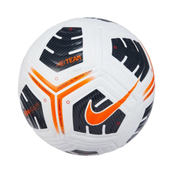 Nike Academy Pro - Team Football - White/Black/(Total Orange) image 1 | CU8038-101 | Global Soccerstore