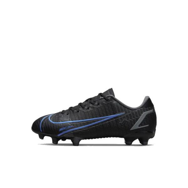 Jr Nike Mercurial Vapor 14 Academy FG/MG - Black/Iron Grey/University Blue image 1 | CV0811-004 | Global Soccerstore