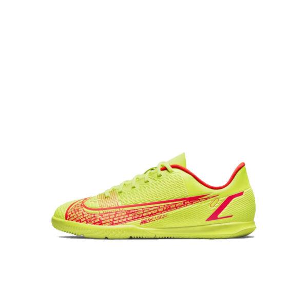 Jr Nike Mercurial Vapor 14 Club IC - Volt/Bright Crimson/Black image 1 | CV0826-760 | Global Soccerstore