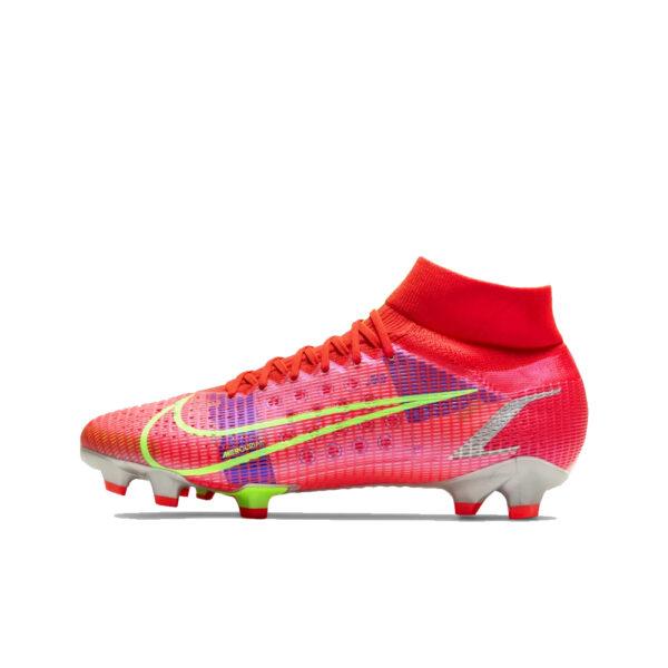 Nike Mercurial Superfly 8 Pro FG - Bright Crimson/Indigo Burst/Rage Green image 1 | CV0961-600 | Global Soccerstore