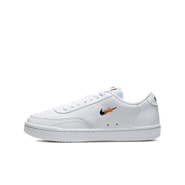 W Nike Court Vintage PRM - White/Black-Total Orange image 1   CW1067-100   Global Soccerstore