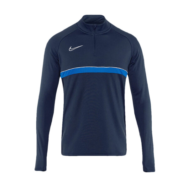 Nike Academy 21 Drill Top - Obsidian/White/Royal Blue image 1 | CW6110-453 | Global Soccerstore