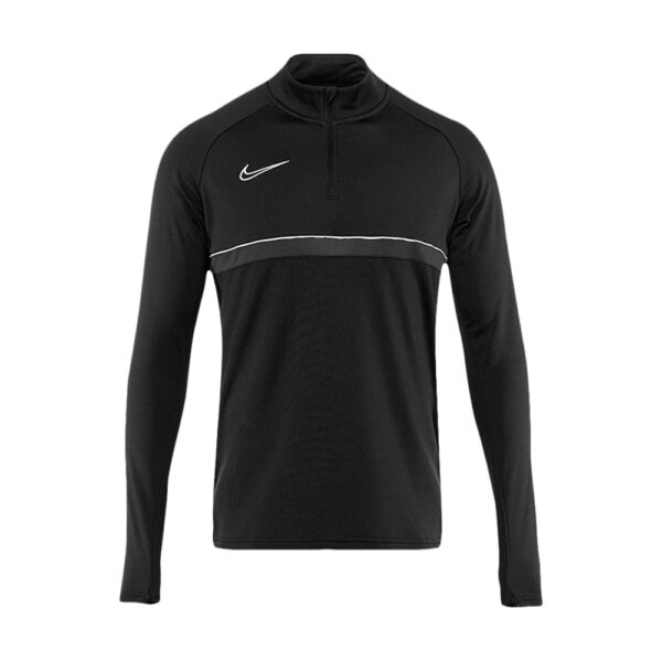 Youth Nike Academy 21 Drill Top - Black/White/Anthracite image 1   CW6112-014   Global Soccerstore