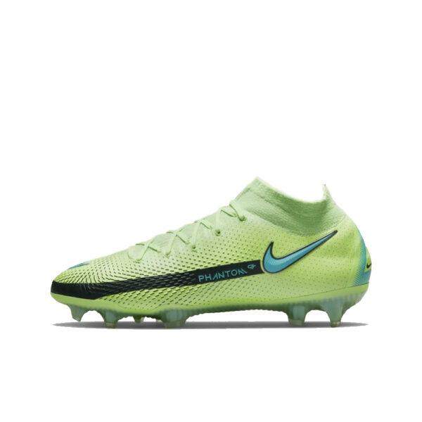 Nike Phantom GT Elite DF FG - Lime Glow/Aquamarine-Off Noir image 1 | CW6589-303 | Global Soccerstore