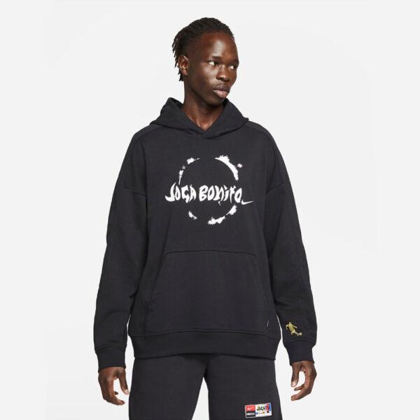 Nike FC Pullover Hoodie - Black/White image 1 | CZ0995-010 | Global Soccerstore