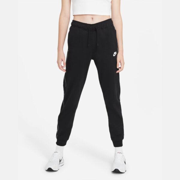 Women's Nike Sportswear Fleece Joggers - Black/(White) image 1 | CZ8340-010 | Global Soccerstore