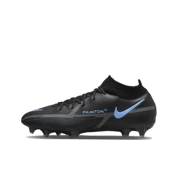 Nike Phantom GT2 Elite DF FG - Black/Iron Grey/University Blue image 1 | CZ9889-004 | Global Soccerstore