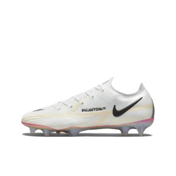 Nike Phantom GT2 Elite FG - White/Black/Bright Crimson/Pink Blast image 1   CZ9890-121   Global Soccerstore