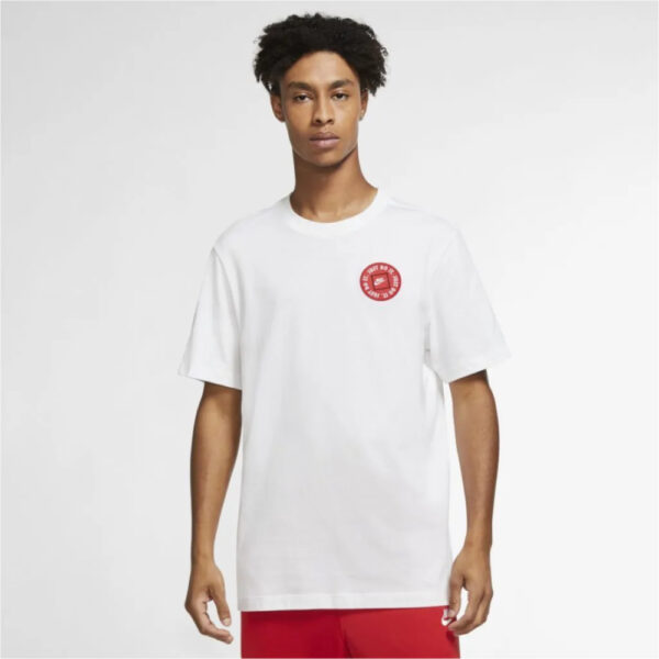 Nike Sportswear Just Do It Tee - White image 1   DA0247-100   Global Soccerstore