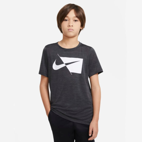 Kids' Nike Dry Fit Top - Black/(White) image 1 | DA0282-010 | Global Soccerstore