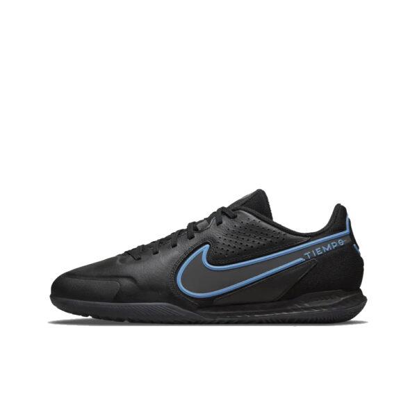 Nike React Tiempo Legend 9 Pro IC - Black/Iron Grey/University Blue image 1   DA1183-004   Global Soccerstore