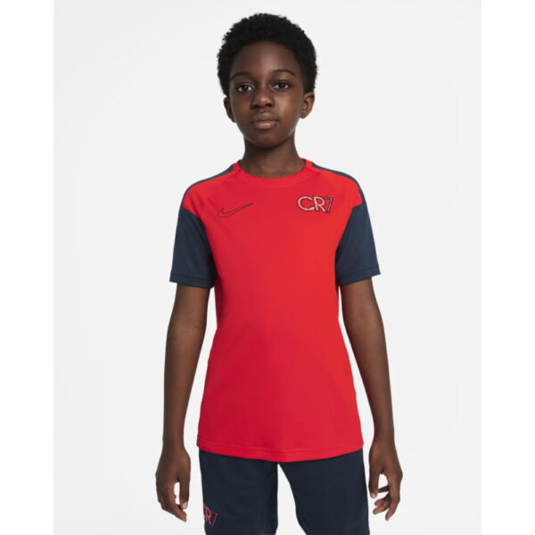 Kid's Nike Dri-Fit CR7 Top - Chile Red/(Black) image 1 | DA5595-673 | Global Soccerstore