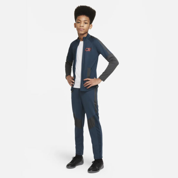 Kid's Nike Dri-Fit CR7 Track Suit - Armory Navy/Anthracite/(Black) image 1   DA5596-454   Global Soccerstore