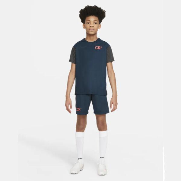 Kid's Nike Dri-Fit CR7 Shirt - Armory Navy/Anthracite/(Black) image 1 | DA5597-454 | Global Soccerstore
